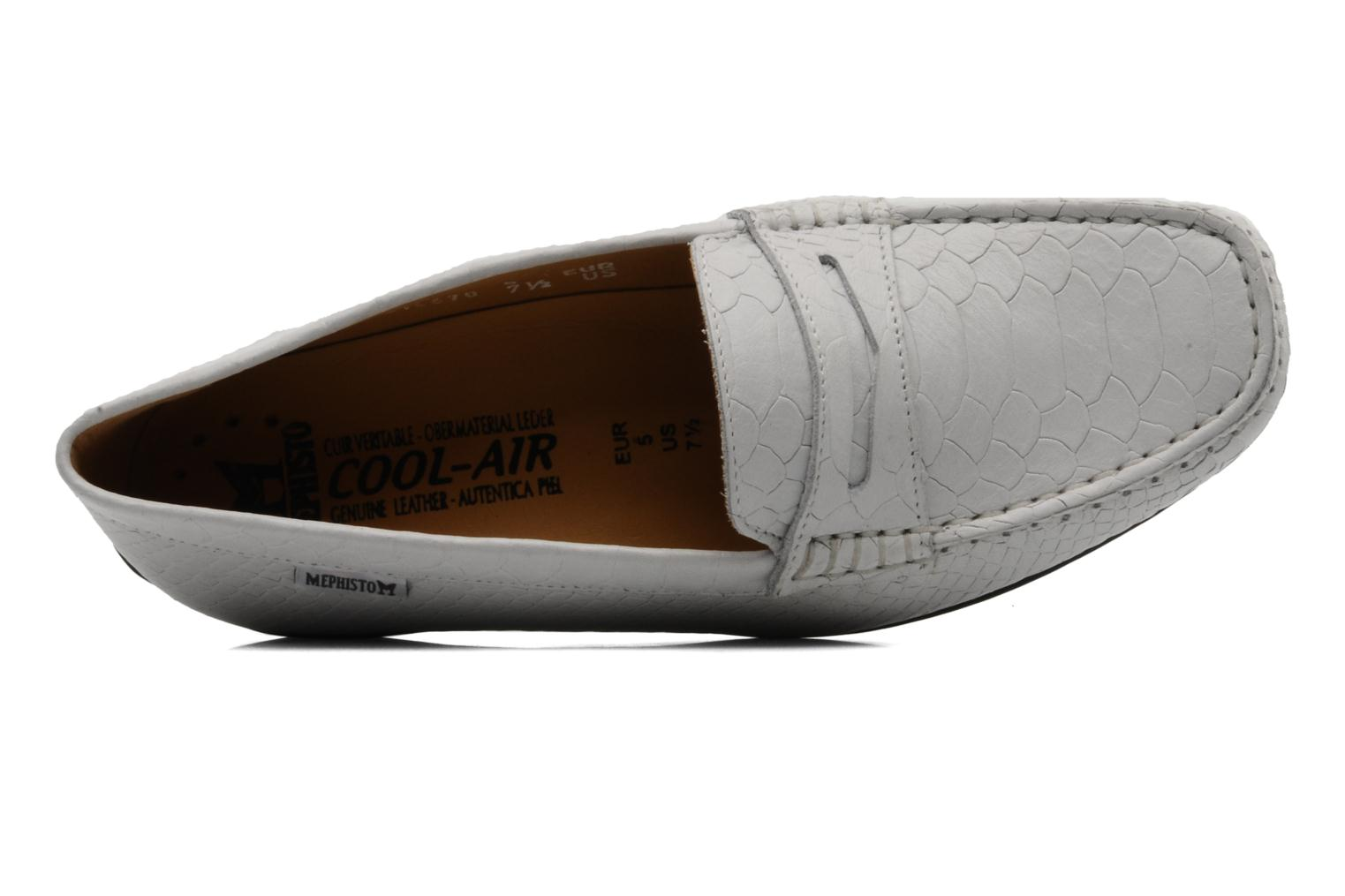 Loafers Mephisto Ninon White view from the left