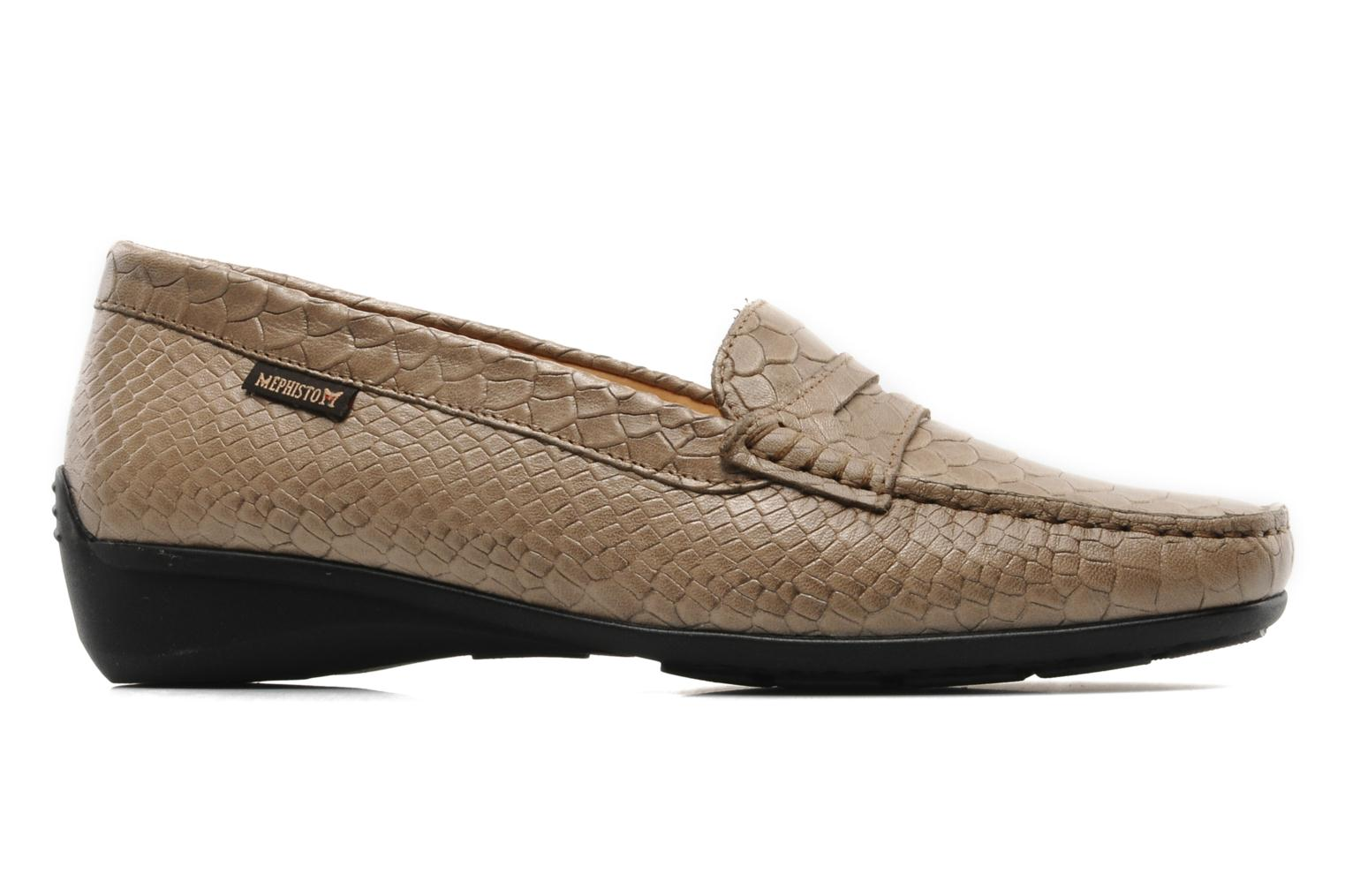 Loafers Mephisto Ninon Brown back view