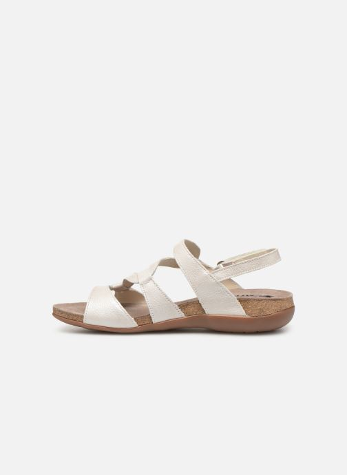 Sandales et nu-pieds Mephisto Adelie Blanc vue face