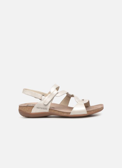 Sandales et nu-pieds Mephisto Adelie Blanc vue derrière