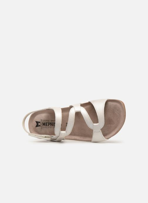 Sandales et nu-pieds Mephisto Adelie Blanc vue gauche