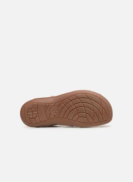Sandales et nu-pieds Mephisto Adelie Blanc vue haut