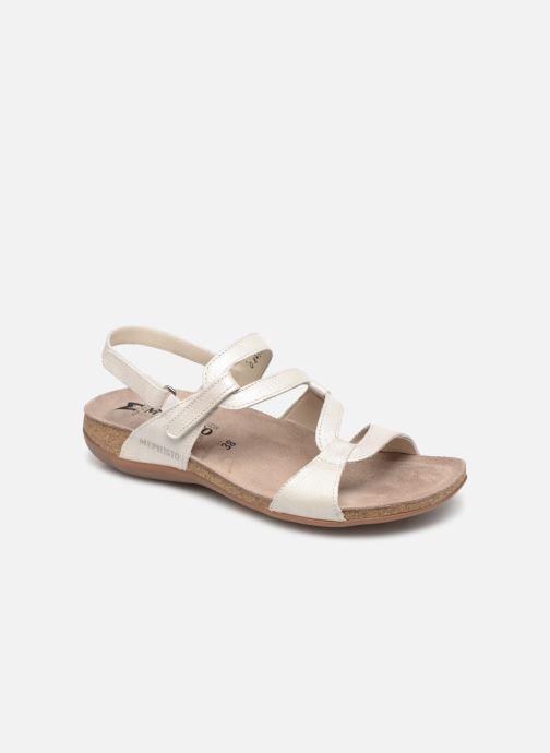 Sandales et nu-pieds Mephisto Adelie Blanc vue détail/paire