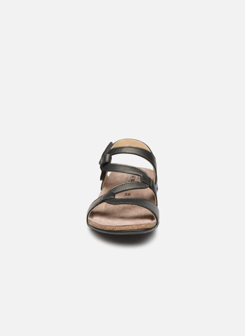 Sandales et nu-pieds Mephisto Adelie Gris vue portées chaussures