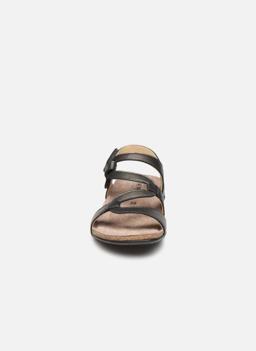 Sandalen Mephisto Adelie grau schuhe getragen