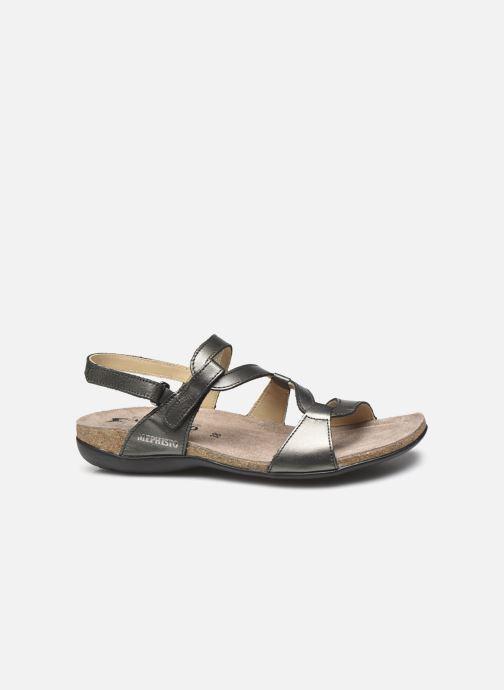 Sandales et nu-pieds Mephisto Adelie Gris vue derrière