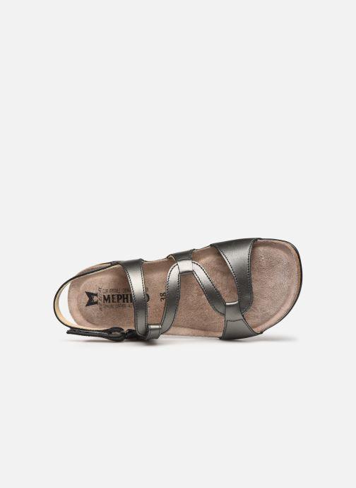 Sandales et nu-pieds Mephisto Adelie Gris vue gauche