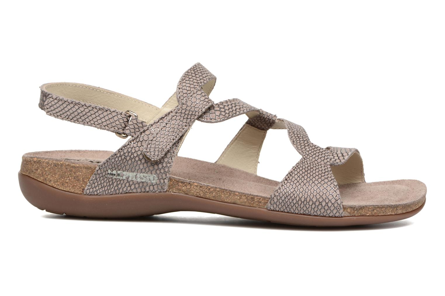 Sandals Mephisto Adelie Beige back view
