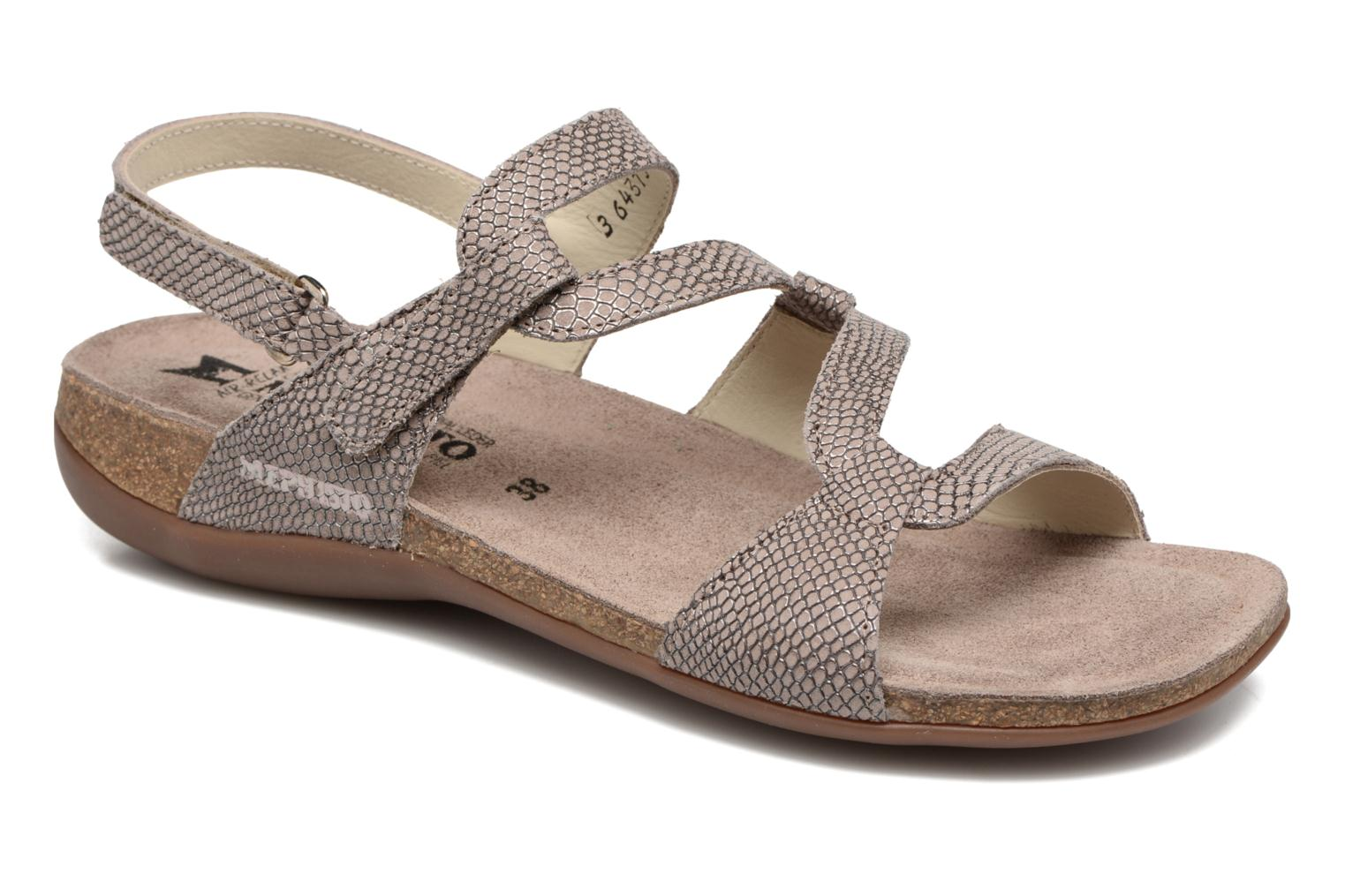 Sandals Mephisto Adelie Beige detailed view/ Pair view