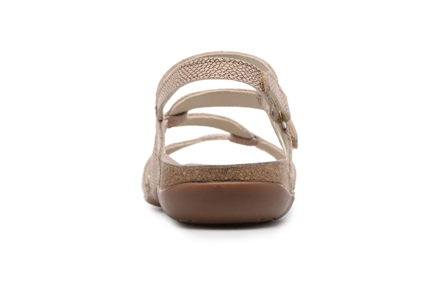 Sandals Mephisto Adelie Brown view from the right