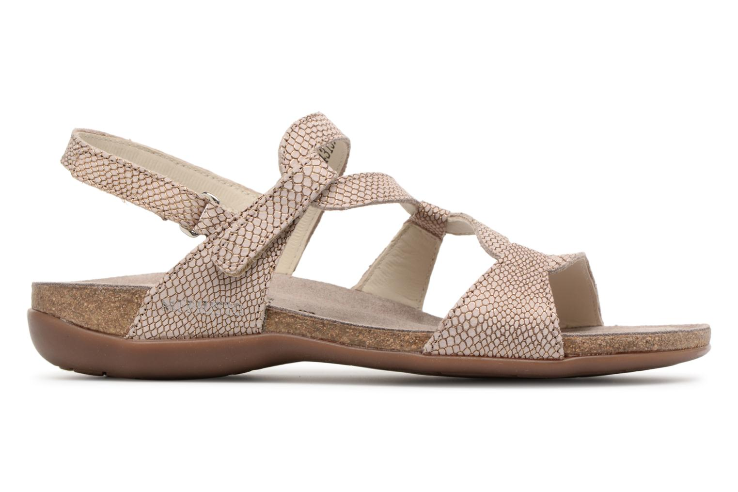 Sandals Mephisto Adelie Brown back view