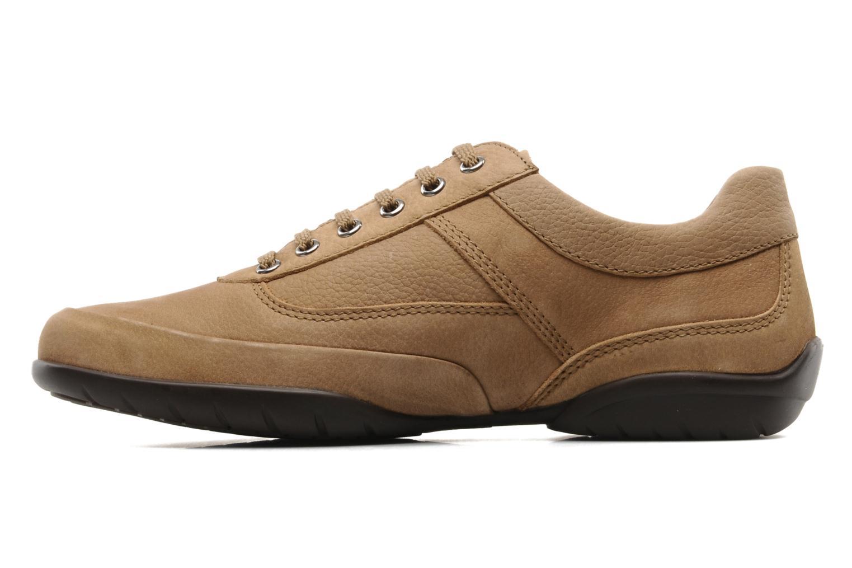 Chaussures à lacets Mephisto Balek Beige vue face