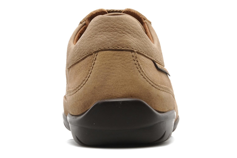 Zapatos con cordones Mephisto Balek Beige vista lateral derecha