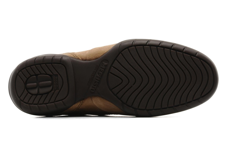 Chaussures à lacets Mephisto Balek Beige vue haut