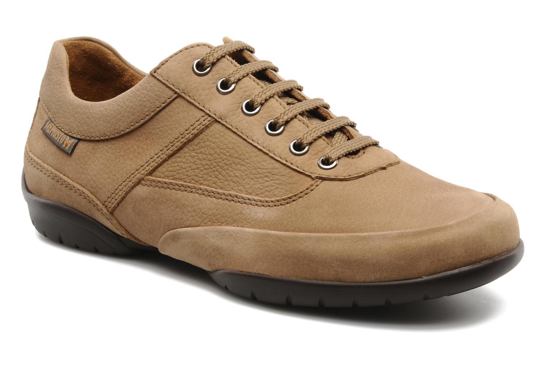 Chaussures à lacets Mephisto Balek Beige vue détail/paire
