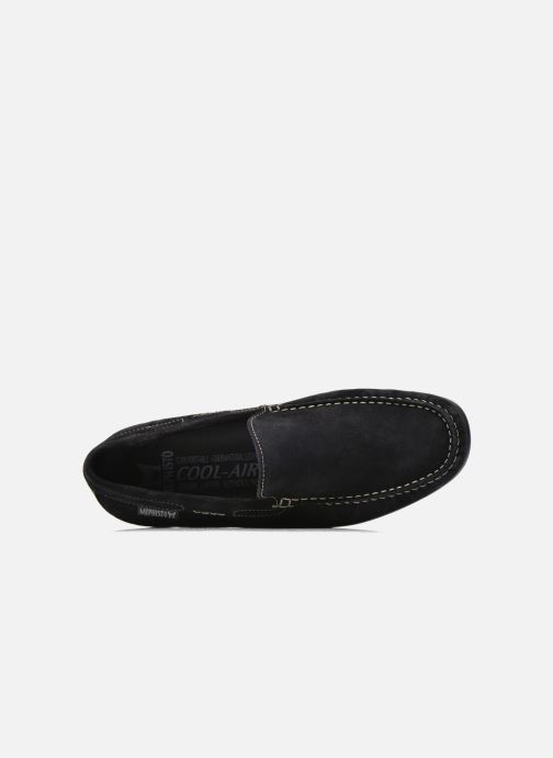 Loafers Mephisto Algoras Blue view from the left