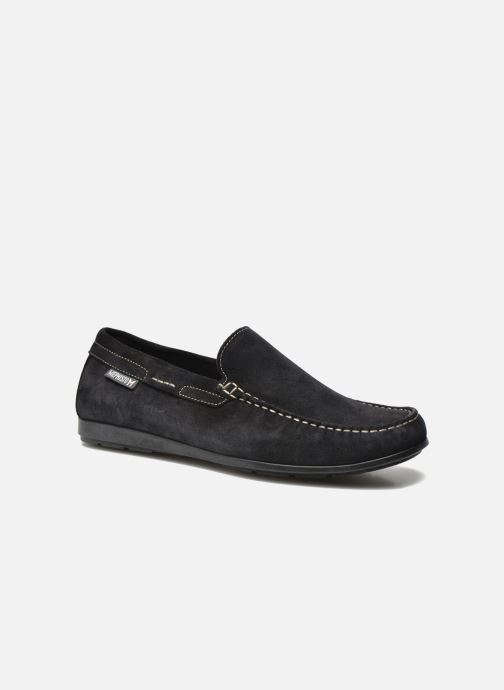 Loafers Mephisto Algoras Blue detailed view/ Pair view