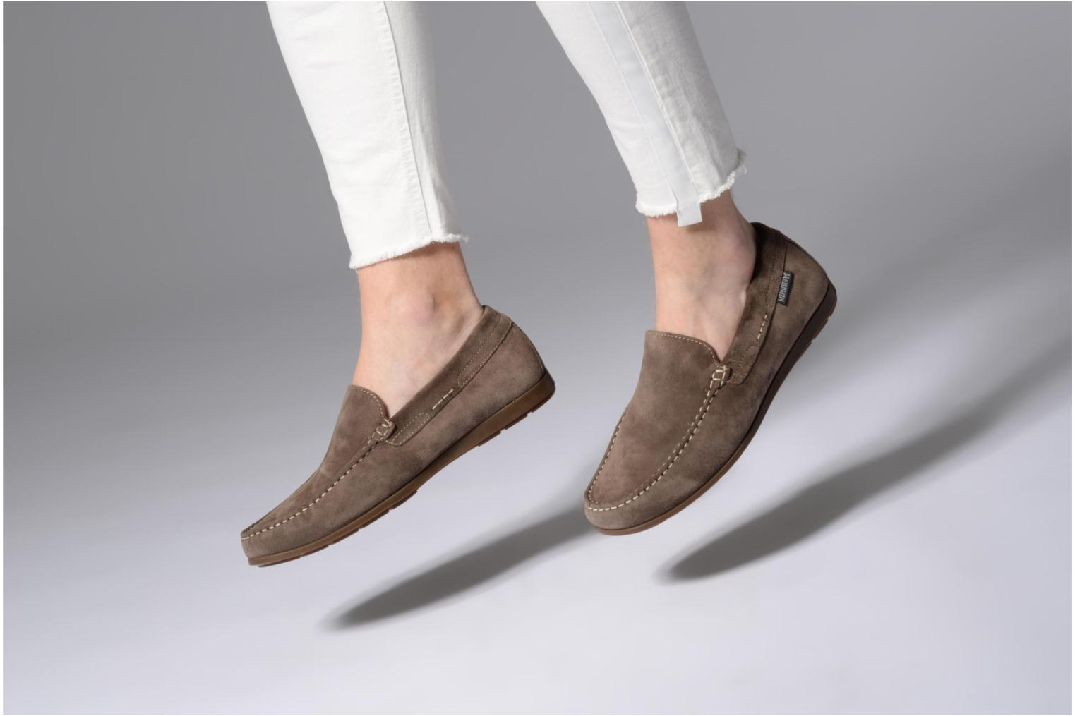 Loafers Mephisto Algoras Grey view from underneath / model view