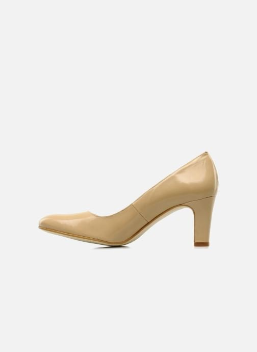 High heels Georgia Rose Timido Beige front view