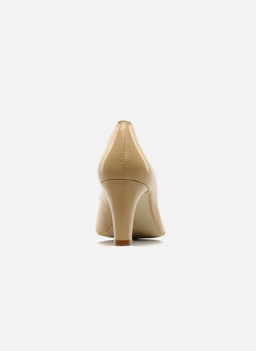 High heels Georgia Rose Timido Beige view from the right