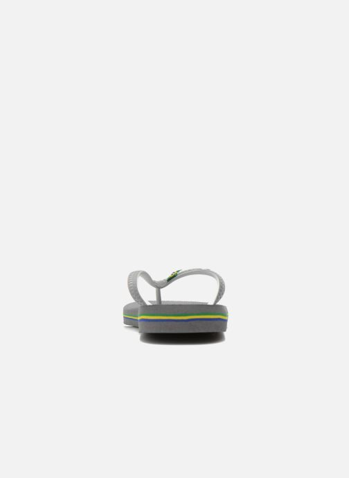 Flip flops Havaianas Brasil Mix H Grey view from the right