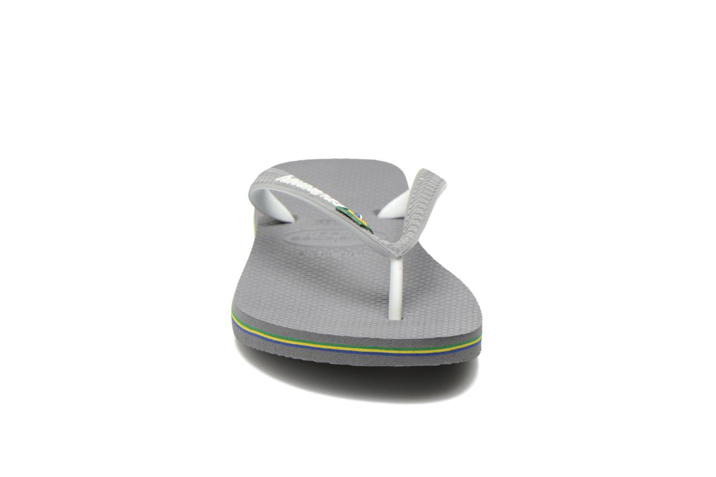Flip flops Havaianas Brasil Mix H Grey model view