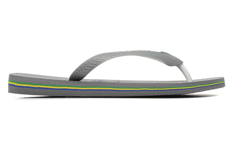 Flip flops Havaianas Brasil Mix H Grey back view