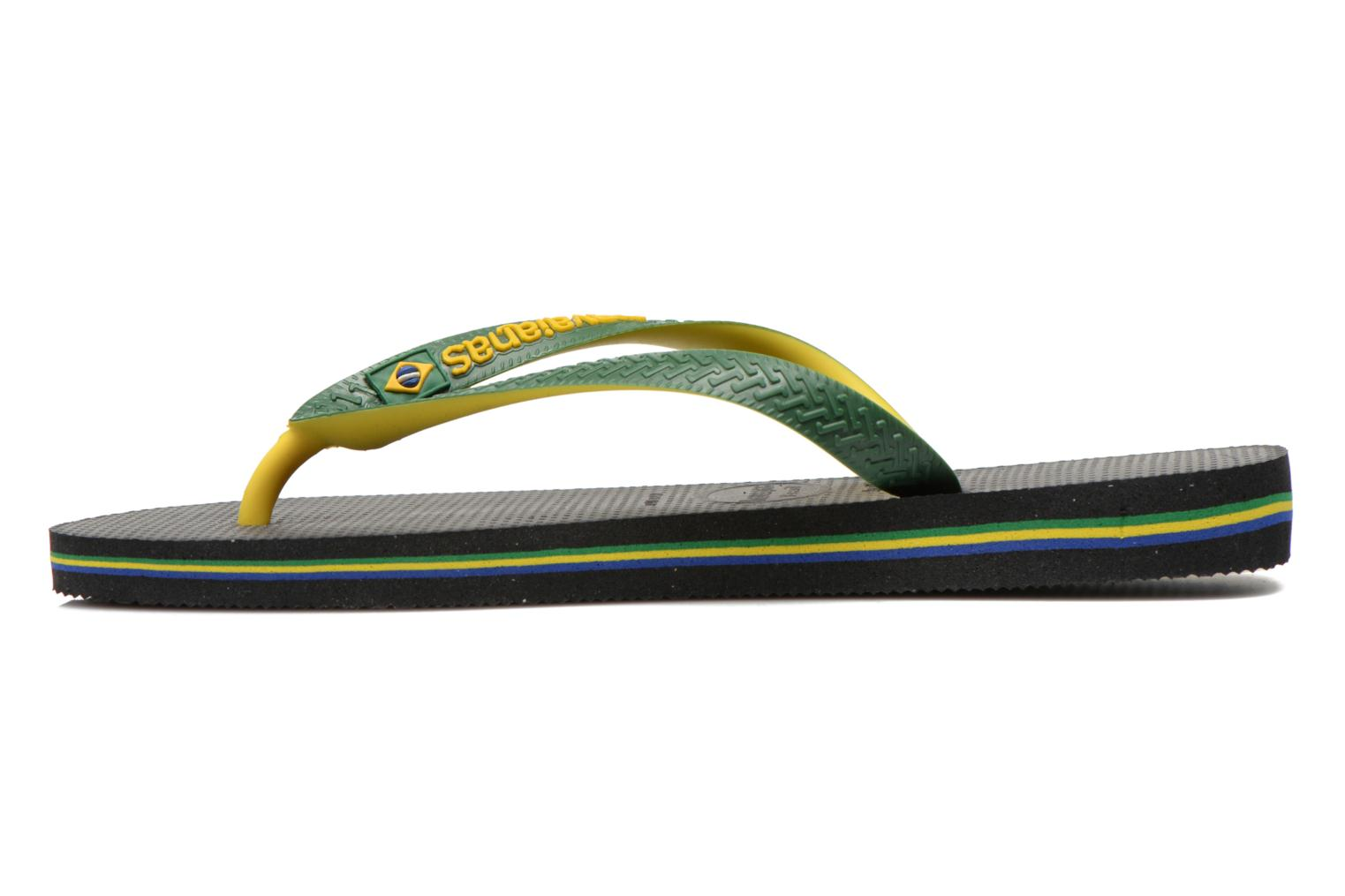 Tongs Havaianas Brasil Mix H Vert vue face