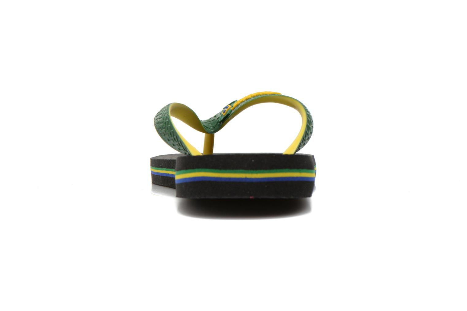 Flip flops Havaianas Brasil Mix H Green view from the right