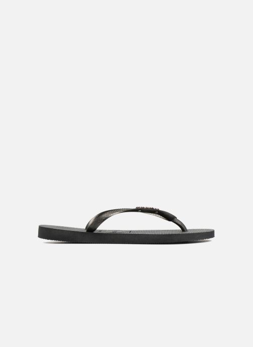 Havaianas Gold Metallic Logo Slim Black rwW8OrqZ
