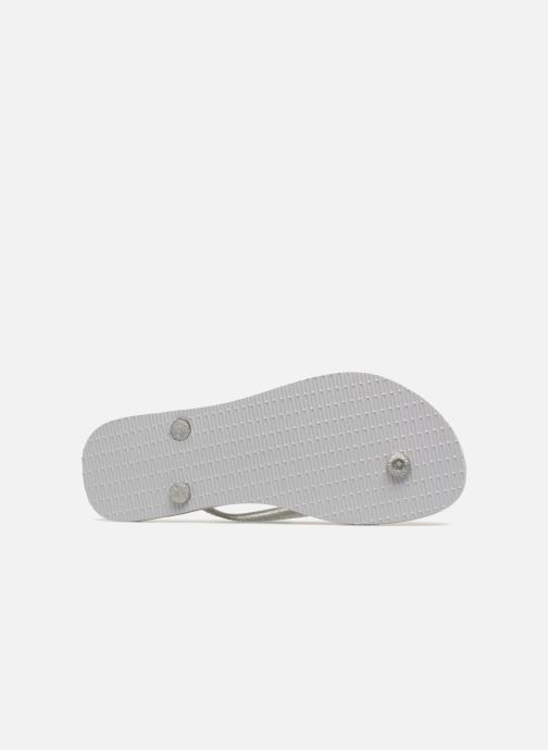 Havaianas Slim Logo Metallic (gris) - Tongs(312946)