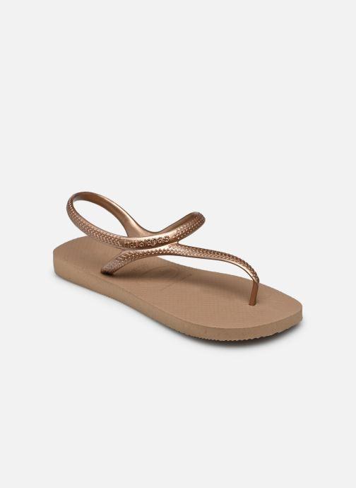 Sandales et nu-pieds Havaianas Flash Urban Rose vue portées chaussures