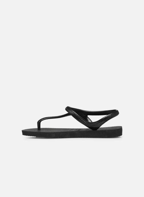Sandales et nu-pieds Havaianas Flash Urban Noir vue face