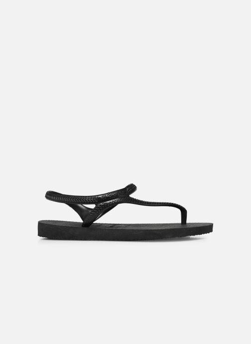 Sandales et nu-pieds Havaianas Flash Urban Noir vue derrière