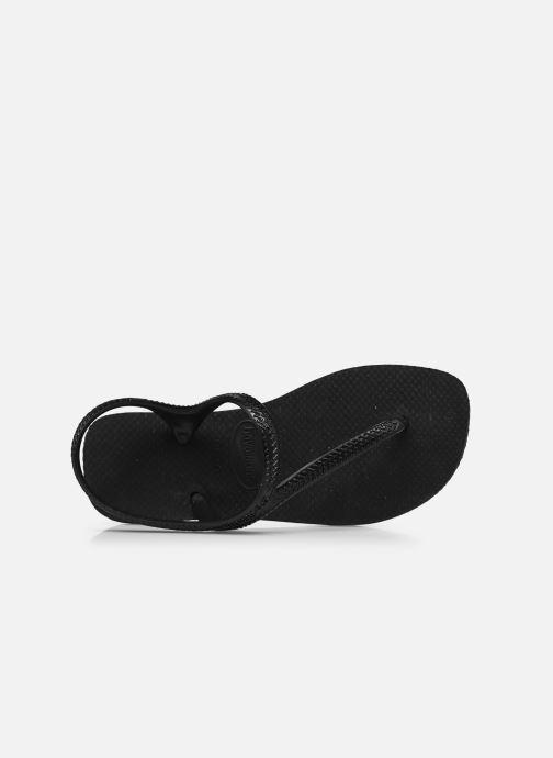 Sandales et nu-pieds Havaianas Flash Urban Noir vue gauche
