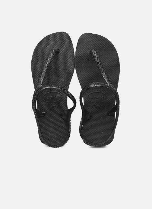 Sandales et nu-pieds Havaianas Flash Urban Noir vue détail/paire