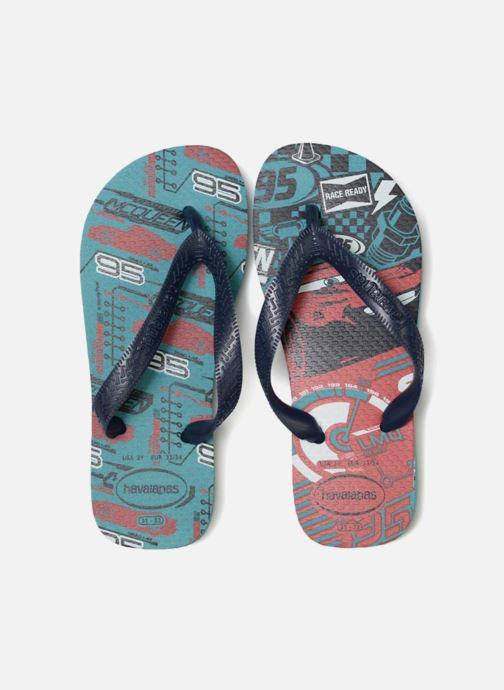 Tongs Havaianas Kids Cars Bleu vue portées chaussures