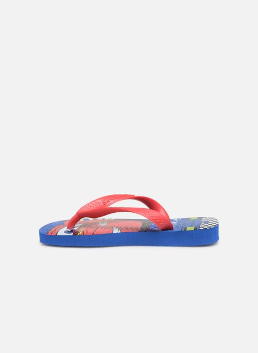 Chanclas Havaianas Kids Cars Azul vista de frente
