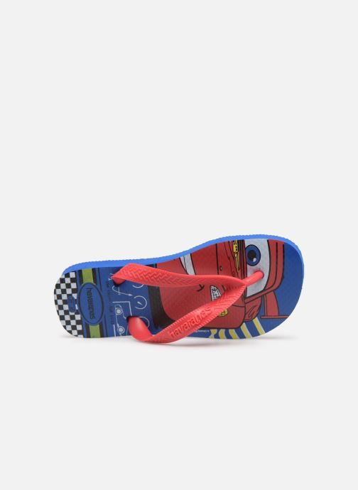 Flip flops Havaianas Kids Cars Blue view from the left