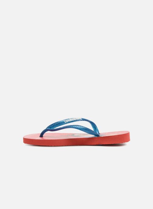 Chanclas Havaianas Kids Slim Princess Rojo vista de frente