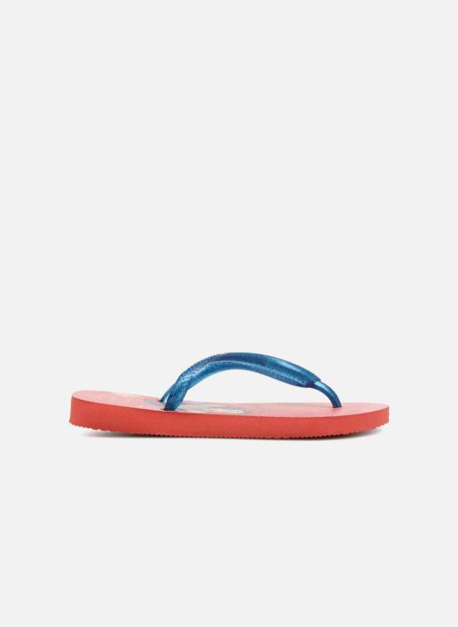 Chanclas Havaianas Kids Slim Princess Rojo vistra trasera