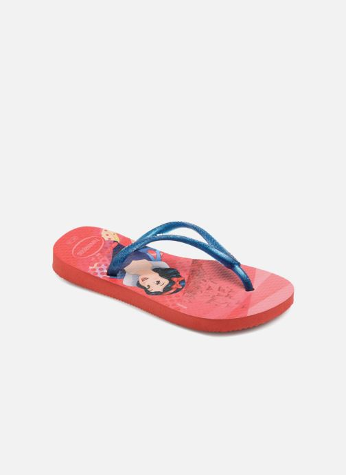 Slippers Havaianas Kids Slim Princess Rood detail