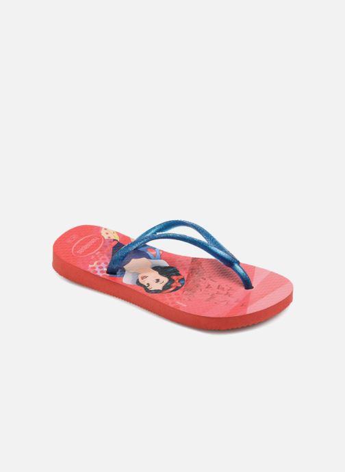 013c2d0fc25 Havaianas Kids Slim Princess (Rouge) - Tongs chez Sarenza (318018)