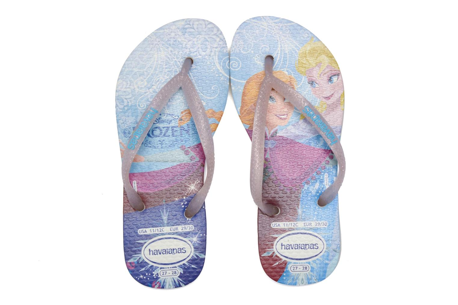Chanclas Havaianas Kids Slim Princess Multicolor vista 3/4