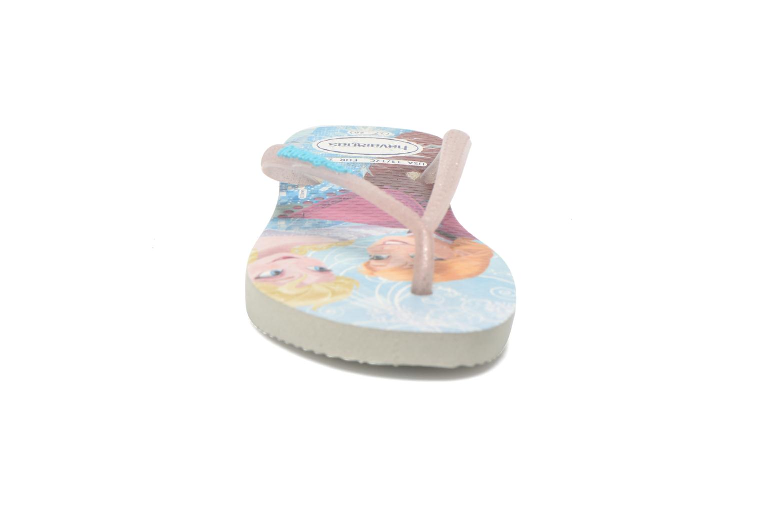Chanclas Havaianas Kids Slim Princess Multicolor vista del modelo