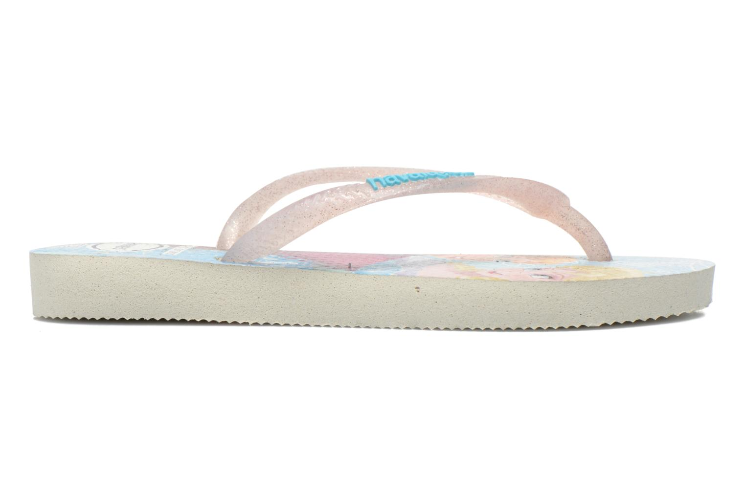 Slippers Havaianas Kids Slim Princess Multicolor achterkant