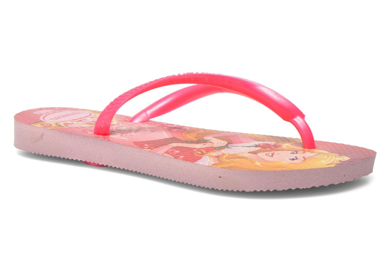a537b0b60d7db ... Flip flops Havaianas Kids Slim Princess Pink detailed view Pair view  factory outlets 6b259 fa5de ...