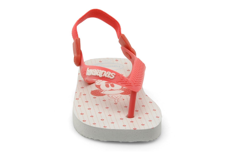 Flip flops Havaianas Baby Mickey Minnie Röd bild av skorna på