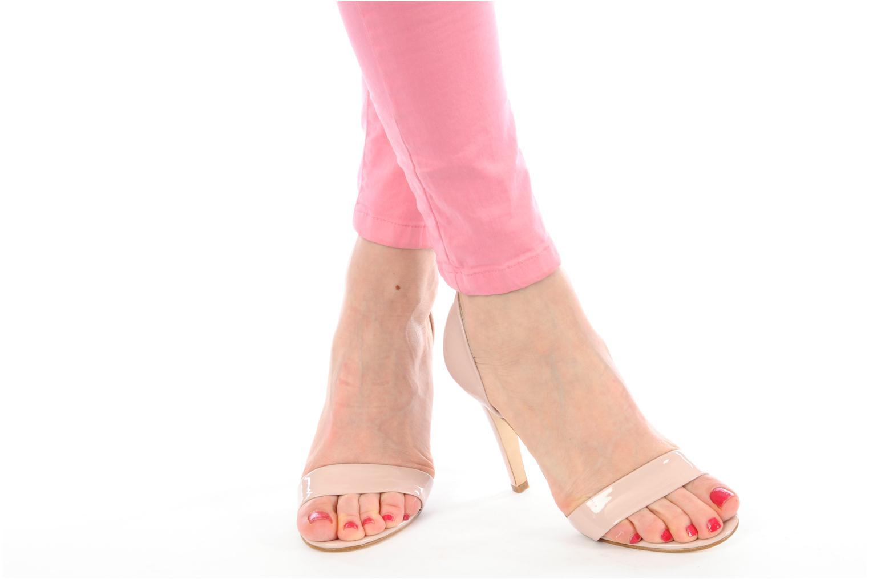 Sandales et nu-pieds Georgia Rose Dellia Rose vue bas / vue portée sac