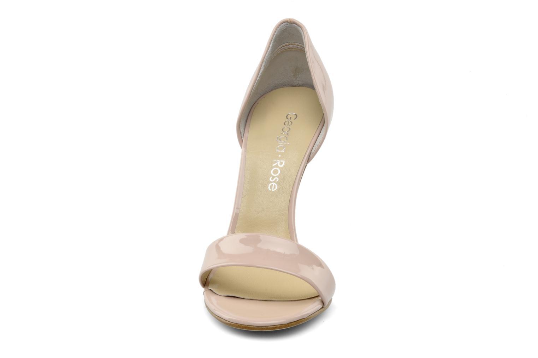 Sandales et nu-pieds Georgia Rose Dellia Rose vue portées chaussures